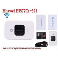 Buy cheap White Hotspot Wireless Router Unlocked Huawei E5577-321 3G 4G LTE Cat4 Mobile from wholesalers