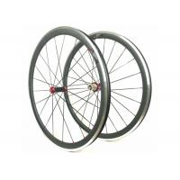 Quality Aluminum Bicycle Wheels With Alloy Brake , Road Bike Deep Section Carbon Wheels wholesale
