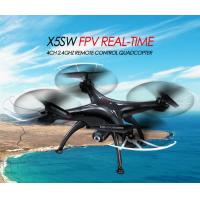 Cheap X5SW WIFI FPV Real-Time RC Drone 2.4G 4CH Headless RC Quadcopter Camcorder W/ HD Camera for sale