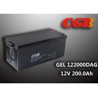 Quality 12V 200AH non spillable sealed rechargeable battery , GEL Military Energy Storage Battery wholesale