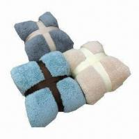 Quality Solid Sherpa Blankets in Fashionable Colors wholesale