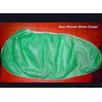 Quality Non-woven Shoe Cover with Elastic Rubber Around All Parts wholesale