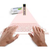 Quality Portable Mini Bluetooth Projection Laser Keyboard with Mouse function wholesale