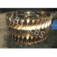 Quality Nonstandard Hypoid Double Helix Gear Spiral Bevel Gears Forging Processing wholesale