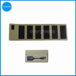 China 12W monocrystal folding solar panel phone charger on sale