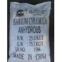 China Barium chloride anhydrous on sale