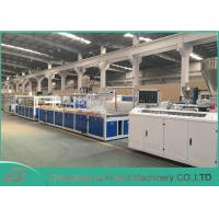 China Stable Running Wood Plastic Composite Production Line 8~20mm Thickness on sale