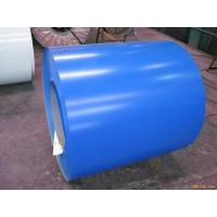 Cheap Hot Dipped Galvanized Prepainted Steel Coil With Sea Blue / White Series for sale