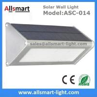 Quality 1000LM Radar Sensor 48LED Solar Wall Light Wireless Security Garden Wall Mounted Yard Lamp wholesale