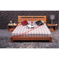 Quality Plate modern Apartment bedroom indoor interior Furniture by MDF bed and Nightstand wholesale