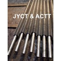 Quality High Frequency Welded Helical Serrated Fin Tube For Infired Heater / Heat Exchangers wholesale