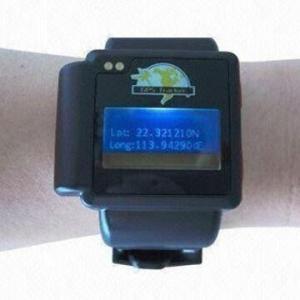 China Watch GPS Tracker with -159dBm Sensitivity GSM/GPRS Network, Measuring 45 x 38 x18mm on sale