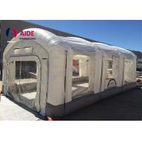 Cheap Durable Inflatable Paint Booth For Car , Custom Pvc Inflatable Auto Paint Booth for sale