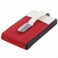 China Ultra-thin 1TB External Hard Disk with USB2.0 Interface, Leather Case Material on sale
