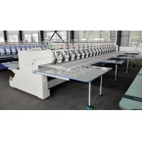 Quality 18 Heads Computer Sewing Machine Embroidery , Multi Needle Home Embroidery Machine wholesale