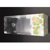 Cheap clear plastic feeding bottle packaging box in size 8.2*8.2*19.1cm with auto lock for sale