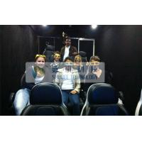 Cheap Luxury 7D Trailer / Truck Cinema Systems With 12 seats Motion Chairs , Pneumatic for sale