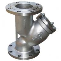 Quality Custom Industrial Strainer / Stainless Steel Y Strainer Stable Performance wholesale