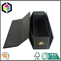 China CMYK Full Color Black Folding Paper Wine Packaging Box; Wine Packaging Box on sale