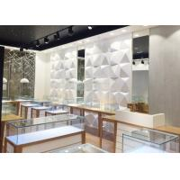 Quality High End Attractive Lighting Jewelry Store Display Cases / Jewelry Store Fixtures wholesale