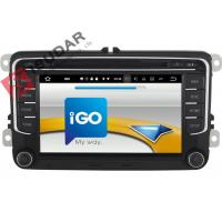 Quality RCD510 RNS510 VW Tiguan Dvd Player Touch Screen Car Stereo With Navigation wholesale