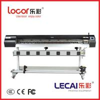Buy cheap Original lecai inkjet printer with double four color and Japanese E-pson DX5 from wholesalers