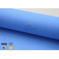 Cheap Colored Silicone Coated Glass Fabric Fiberglass Sound Insulation 530gsm 127cm for sale