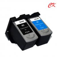 Cheap PG40 ink cartridge/CL41 ink cartridges use for MP145/PIXMA MP198/PIXMA MP228/PIXMA MP476/PIXMA MX308/PIXMA MX318 for sale