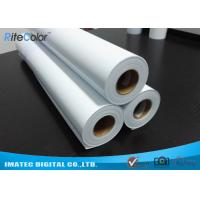 Quality Eco Solvent Matte PP Synthetic Paper , Solvent based Polypropylene Paper for Outdoor Display wholesale
