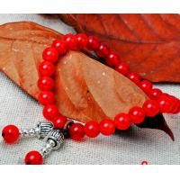 Quality Traditional red agate lucky beads women