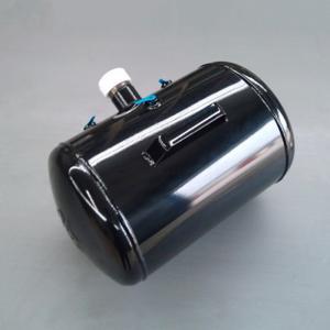 China Customized bead seater 5 gallon portable air tank black steel air reservoir on sale
