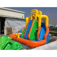 China PVC Tarpaulin Inflatable Water Slide / Inflatable Water Park Games on sale