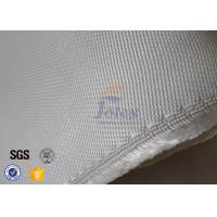 Cheap High Temperature 1200gsm 1.3mm Fiberglass Fabric High Silica Cloth White Color for sale