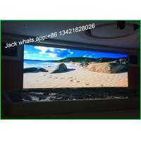 Quality Customized Big LED Stage Video Screens P6 High Resolution Wide View Angle wholesale
