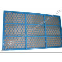 Quality Cobra / ATL Shale Shaker Screen For Brandt Shaker Blue Hex Pretension Panel wholesale