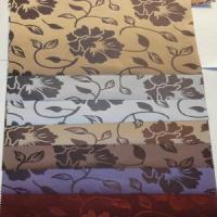 China 100% Polyester Blackout roller blinds fabric for interior decoration on sale