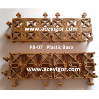 Quality PB-07 China interlock plastic base for DIY tile wholesale