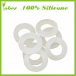 100% Silicone Custom Silicone Rubber Seal Ring Silicone Rubber O Ring