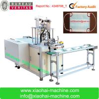 China Full Automatic Nonwoven health Medical Face Mask Inner and outer Earloop Spot Welding Machine for sale
