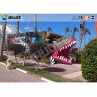 Quality 9 seats Mobile 7D Movie Theater and Vivid Dinosaur Profile More Appealing To Audiences wholesale