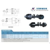 16Ton trailer Axle Assembly with 2 air chamber and decks
