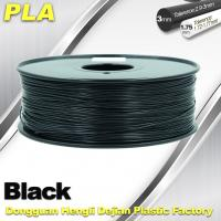 Quality Black  PLA 3d Printer Filament  1.75mm /  3.0mm 1.0 KG / Roll wholesale