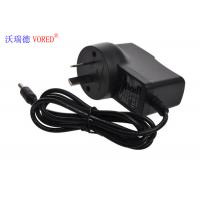 Cheap 8.4V 1A AU Plug Li Polymer Battery Charger , Black DC Conecter Lion Battery for sale
