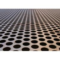 China Cold Rolled Steel Sheet Metal Mesh Screen Easy To Fabricate For Pharmaceutical on sale