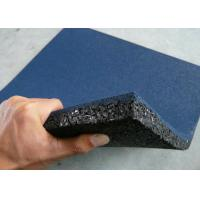 Quality Grain Rubber Felt Floor Spill Mat , Industrial Rubber Sheet Thickness 10-50mm wholesale