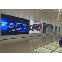 China Wall Mounted Transparent Digital Display , White Transparent LCD Showcase on sale