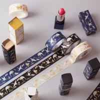 China Writing Printed Washi Japanese paper tape,Special tape for professional gift box packaging.Viscosity strength,non-fading on sale
