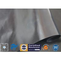 China Black ptfe coated glass fibre fabric For Non Stick BBQ Grill Mat on sale