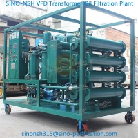 China Transformer Oil Filtration Insulation Oil Purification Oil Regeneration Plant on sale