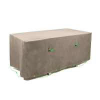 Quality Popular Polyester Material Waterproof Dustproof UV Stop Garden Furniture Cover wholesale